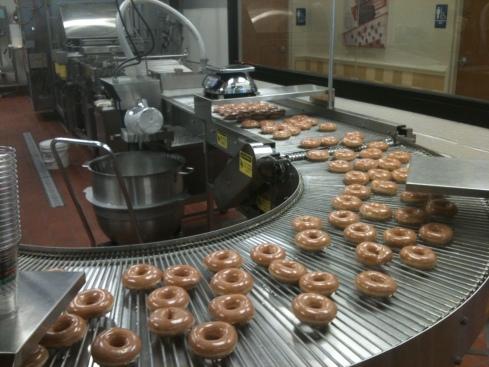 Krispy Kreme Philadelphia Dougnut Test Run