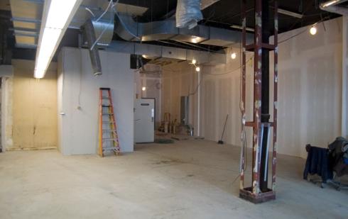 Krispy Kreme Construction at 16th and Chestnut in Philadelphia