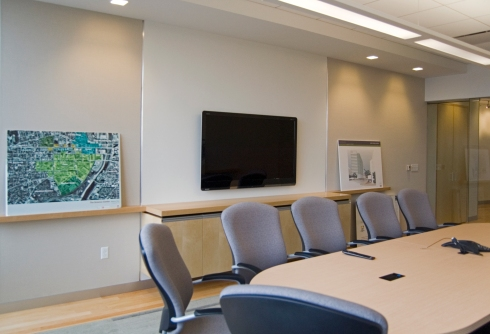 Conference Room in Office FitOut in Science Center University City