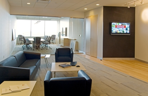 Corporate Office FitOut with Conference Room in Philadelphia, PA