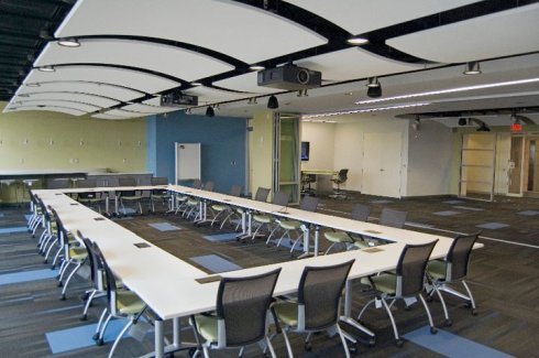 Corporate Office Center and Meeting Room  FitOut in Philadlelphia's Science Center