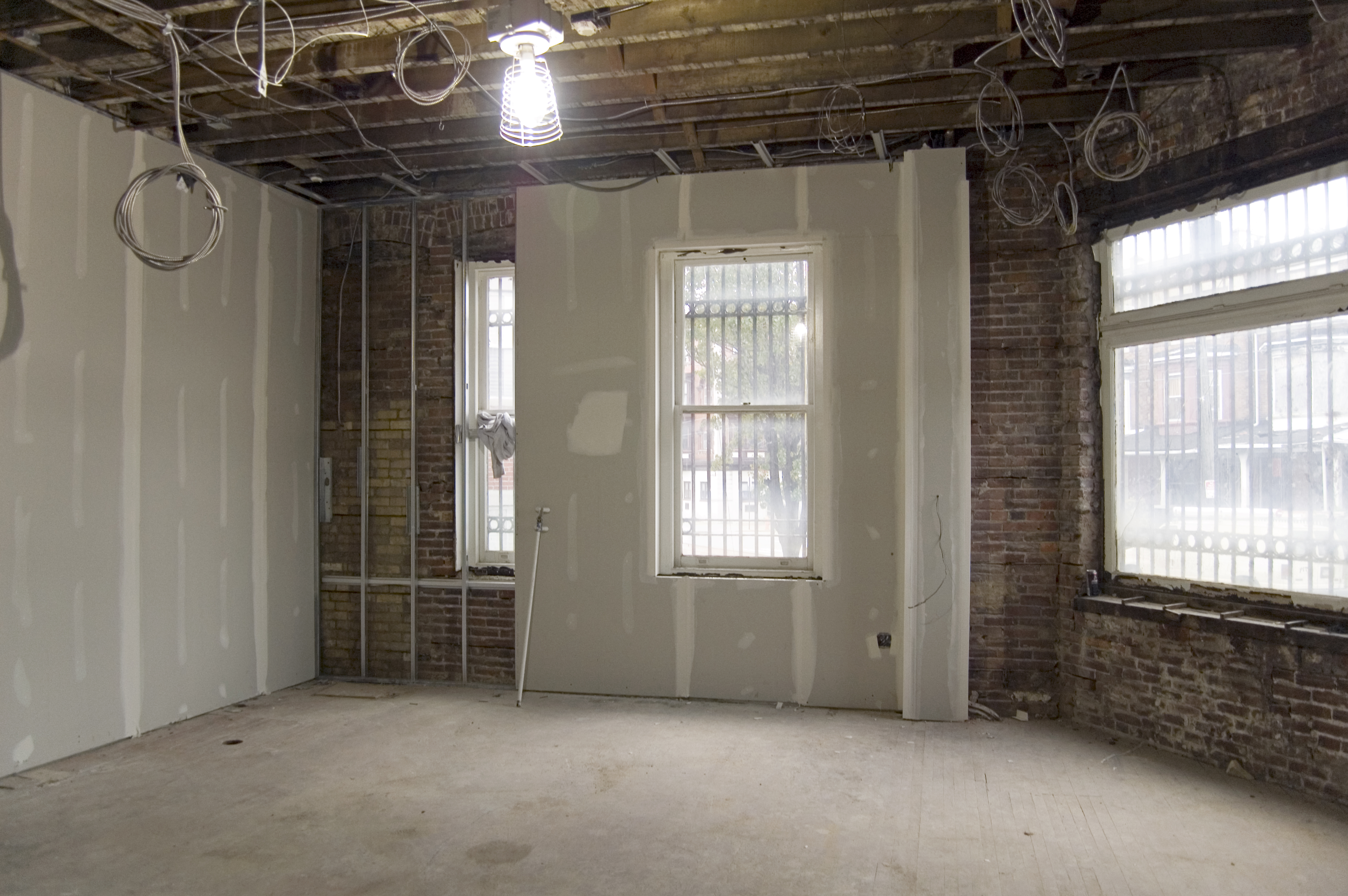 Dry Wall Construction : Mariposa coop construction update on the level with