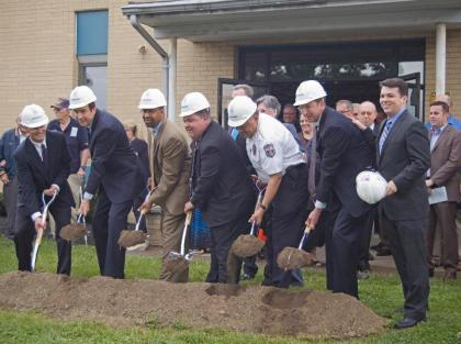 Philadelphia FOP Lodge #5 Groundbreaking
