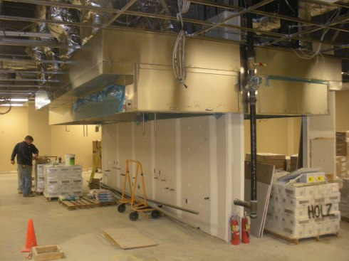 Commercial Kitchen Under Construction