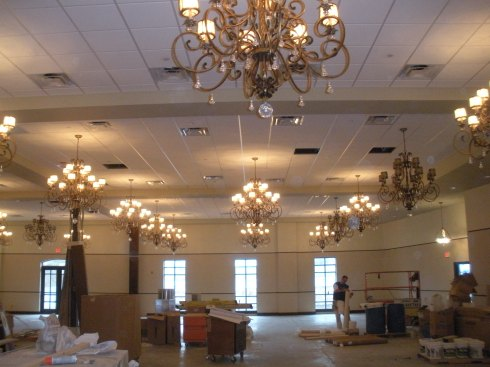 Phila FOP Lodge 7 Dining Hall Construction