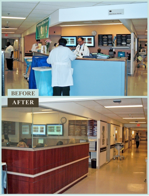 Hospital Renovation Reduces Noise Philadelphia